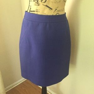 Kate Spade Skirt the Rules lined purple skirt 6